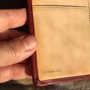 Coach Accessories - Coach passport and bank/business card holders